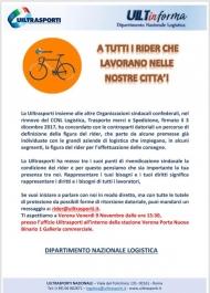 RIDER: invito aperto a tutti i Rider di Verona