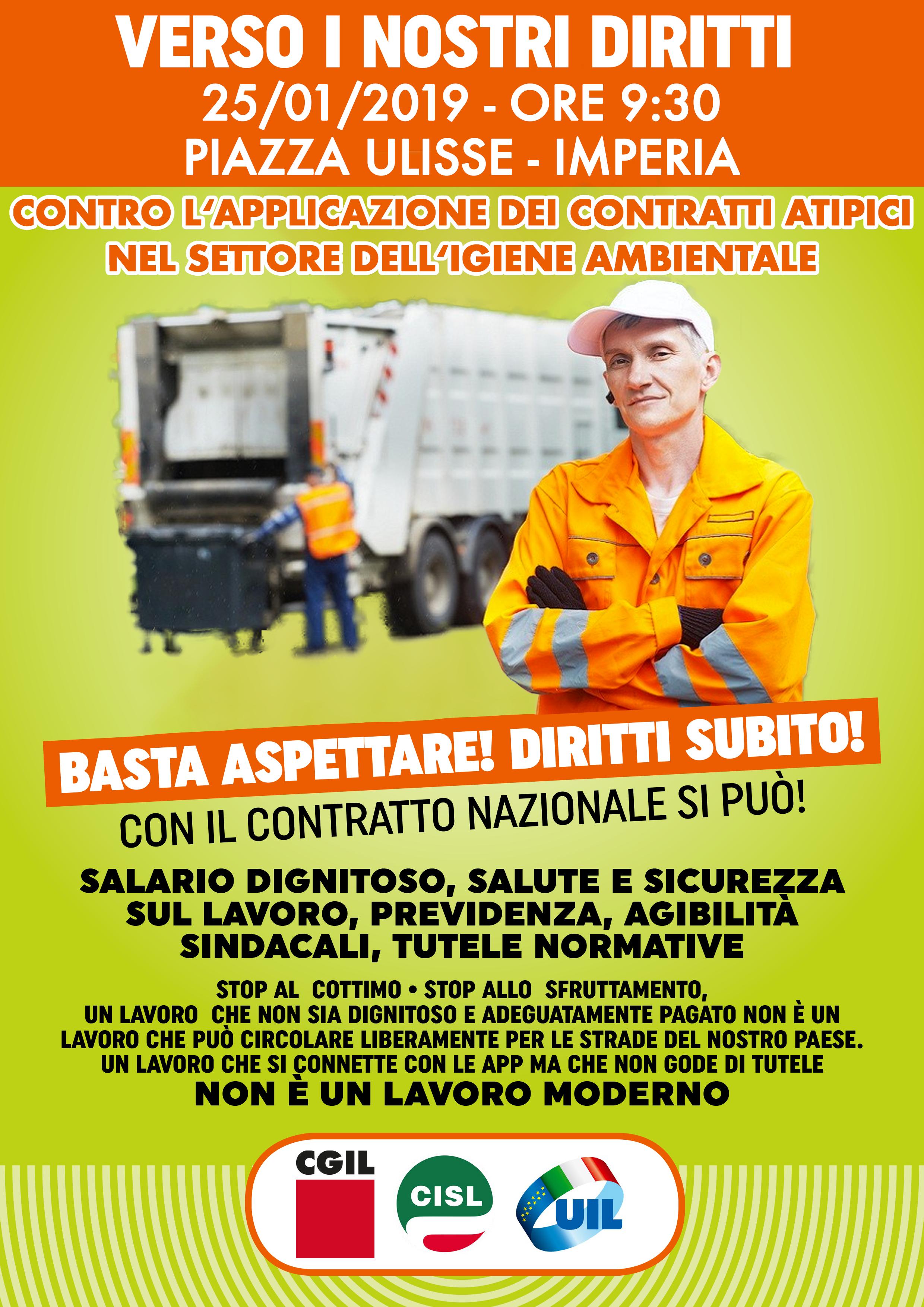 volantino-CGIL-CISL-UIL-igiene ambientale